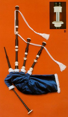 Great Highland Bagpipe von RT Shepherd Modell S/3