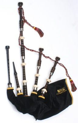 Great Highland Bagpipe - RG Hardie Mod.01 Plain Nickel