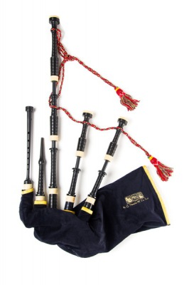 Great Highland Bagpipe - RG Hardie Mod.P01 Polypenco